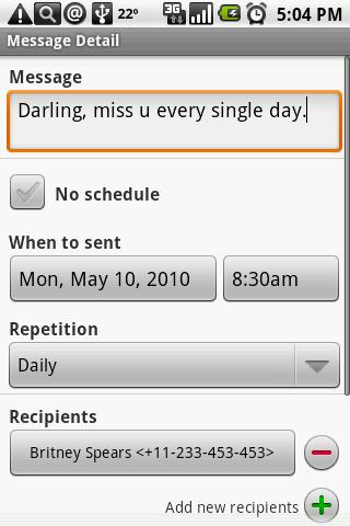 【免費通訊App】Group SMS Scheduler-APP點子