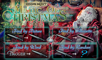 Screenshot of Hidden Object: Christmas Magic