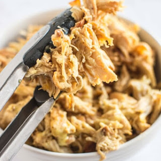 Crockpot Honey Mustard Pulled Chicken
