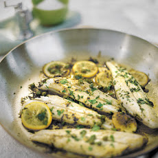 Codfish with Herbed White-Wine Lemon Sauce