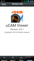 Screenshot of uCAM Viewer