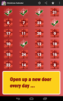 Screenshot of Christmas Calendar 2013 Advent