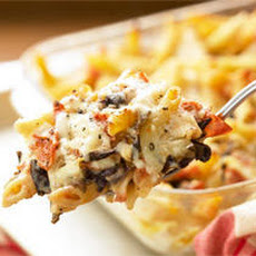 Baked Radicchio and Mozzarella Pasta Recipe