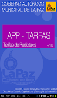 Screenshot of Tarifario radiotaxis La Paz