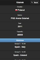 Screenshot of Euro 2012 App - English Ver.