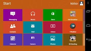 Screenshot of Fake Windows 8 - Launcher
