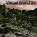Virtual World 2+ LWP icon
