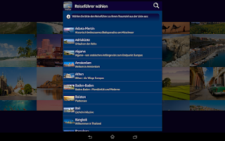 Screenshot of Top 100 Travel Guides