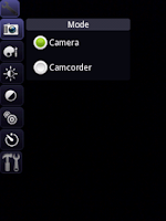 Screenshot of droidCamera