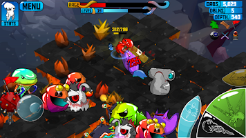 Screenshot of Quadropus Rampage