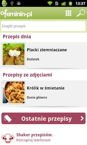 Książka kucharska ofeminin.pl