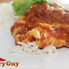 A Spicy Naga Chicken Curry