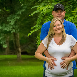 Cassy and Bimbo by Ashley McCoy - People Maternity ( maternity, a.k.mccoy photography, maternity photographer, gender reveal, portraits )