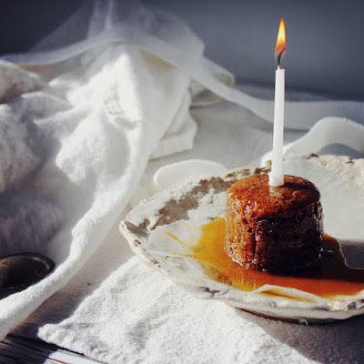 Sticky Whiskey Toffee Pudding