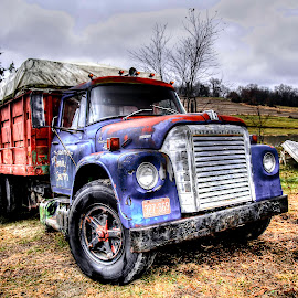 Truck 1 by Inspired  Foto - Landscapes Prairies, Meadows & Fields ( #truck, #farm, #photo, #fields, #cool,  )
