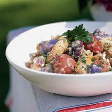 Red, White, and Blue Potato Salad