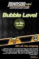 Screenshot of Johnson Bubble Level