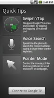 Screenshot of Google TV Remote