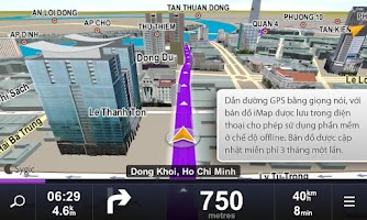 Screenshot of Sygic: Viettel Edition
