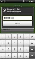 Screenshot of Boka taxi