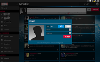 Screenshot of Skyrock