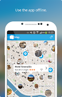 Screenshot of Rome Travel Guide & Map