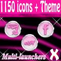Pink Zebra Chrome Icons Pack APK for Ubuntu