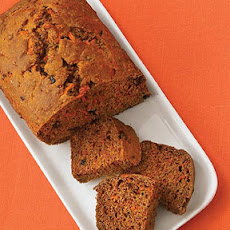 Carrot Bread with Apple Glaze