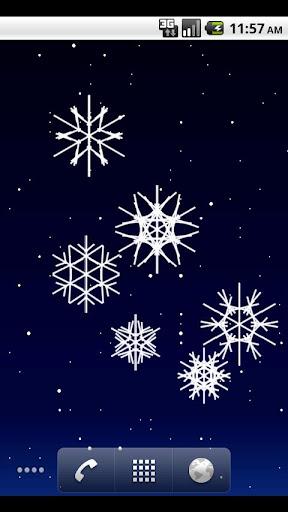 Tilt Snow Live Wallpaper