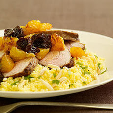 Roasted Pork with Oranges and Prunes
