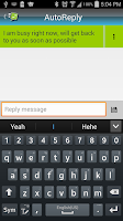 Screenshot of Auto Sms/Calls Reply