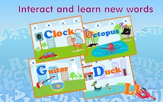 Screenshot of Montessori ABC Games 4 Kids HD