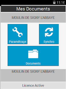 Gestion des Documents - screenshot