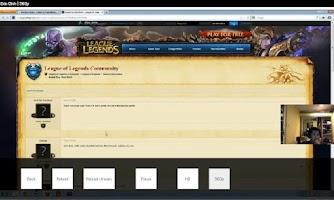 Screenshot of Stream Player