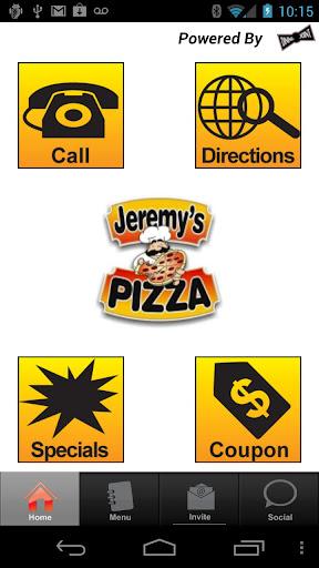 Jeremy's Pizza