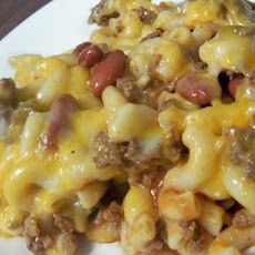 Easy Skillet Cheese-Topped Chili Macaroni