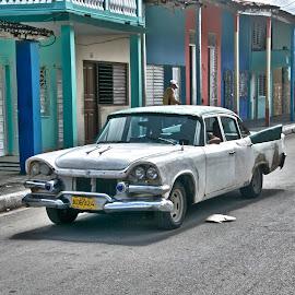 Cuban Car by Don Martin - Transportation Automobiles