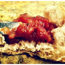 Sweet Onion and Rosemary Jam with Sage Butter Crostini