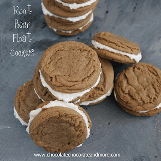 Root Beer Float Cookies