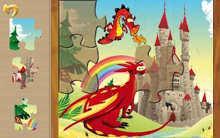 Screenshot of Magic Realm Puzzles for kids