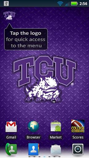 TCU Revolving Wallpaper
