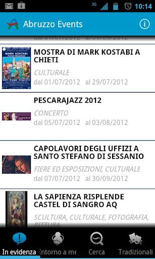 Abruzzo Events