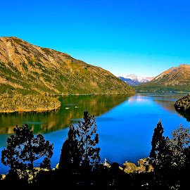 Seven Lakes by Tyrell Heaton - Landscapes Mountains & Hills ( seven lakes, patagonia )
