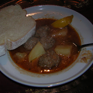Sulu Kofte or Meatball Soup