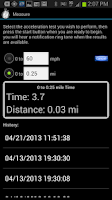Screenshot of GPS HUD Speedometer Plus