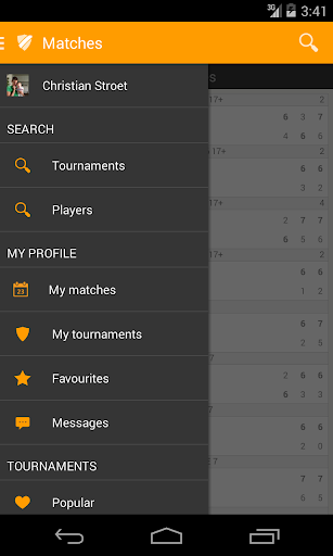 Toernooi.nl Tennis - screenshot