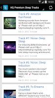 Screenshot of Help Me Sleep (Relaxing Music)