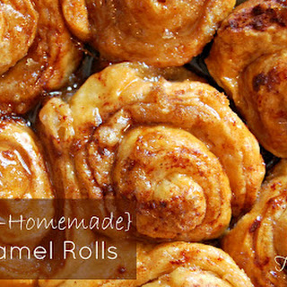 {Semi Homemade} Caramel Rolls