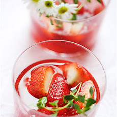 Lime mousse verrine