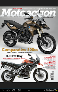 Revista Motoaction - screenshot